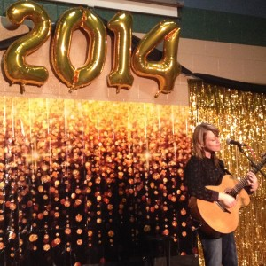 Performing in Grande Prairie, AB for the city celebrations New Year's Eve 2013