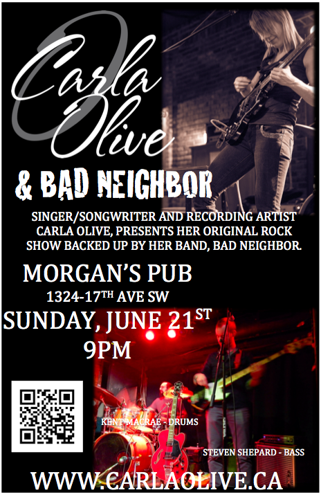 CARLA OLIVE & BAD NEIGHBOR LIVE ROCK SHOW